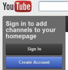 Απόκρυψη του ιστορικού στο YouTube από την Google