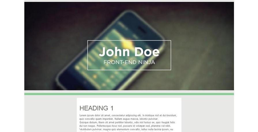 Bootstrap Design 3