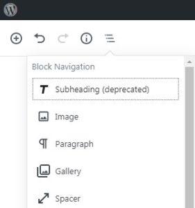 gutenberg-editor-block-navigation
