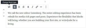 gutenberg-editor-content-area-block-type